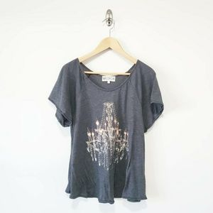 Wildfox Chandelier T Shirt Womens Size S